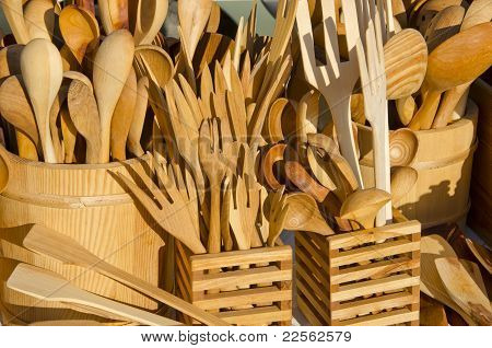 Handmade Wooden Flatware