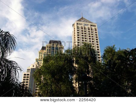 Makati, Philippines, Skyline