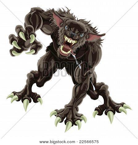 Werewolf Illustration