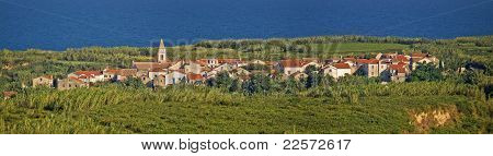 Mediterranean Village On Island Of Susak, Croatia