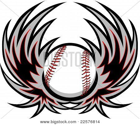 Baseball with Wings