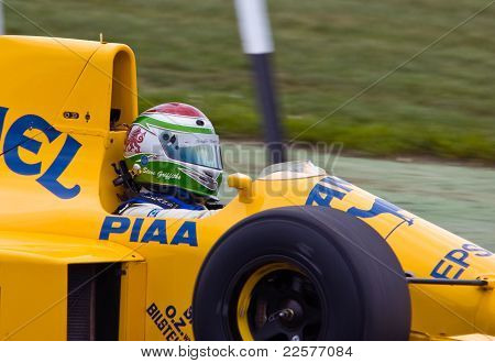 Lotus Type 101T 1989 Driver