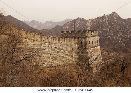 Great Wall Of China Guardtower