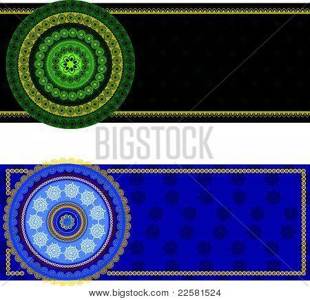 Henna Mandala Banner