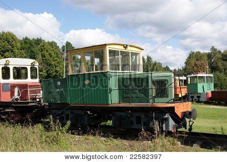 Shunting Diesel Locomotive