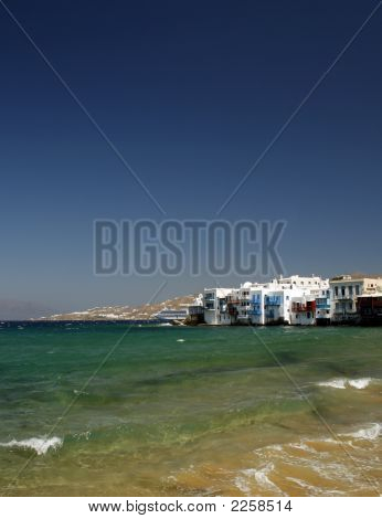 Little Venice View.  Mykonos, Greece