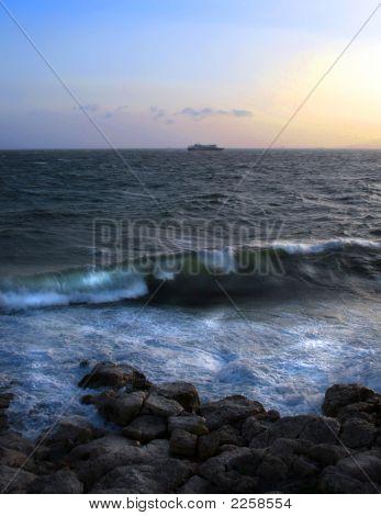 Crashing Waves - Athens, Greece
