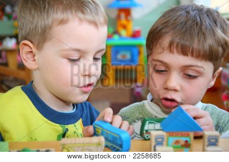 Children In Kindergarten