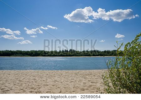 The Beach On The River Don