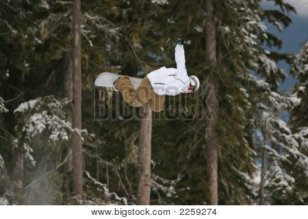Snowboard B Side Air