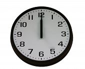 picture of analog clock  - analog wall clock - JPG