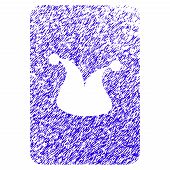 Grunge Joker Gambling Card Rubber Seal Stamp Watermark. Icon Symbol With Grunge Design And Dust Text poster