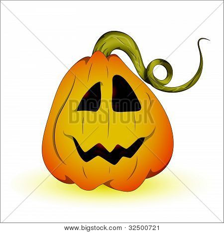 Devil Halloween Pumpkin Vector