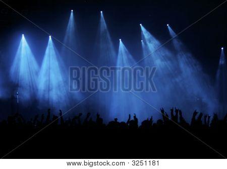 blau Konzert