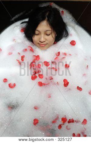 Chinese Woman At Spa