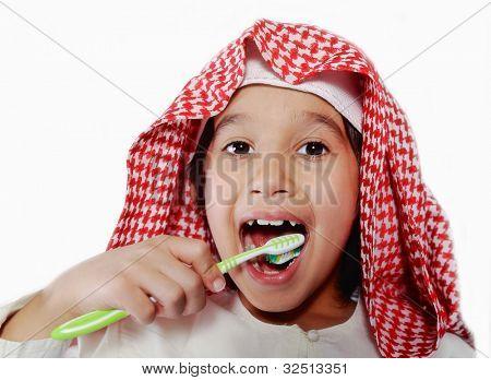 Arabic kid boy