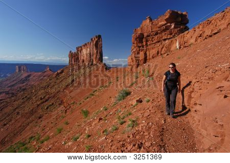 Female Hiker