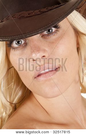 Cowgirl Headshot Looking