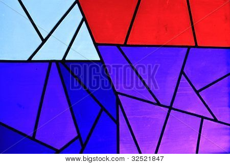 Stained Glass as a Background