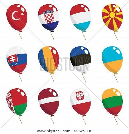 Flag Balloons