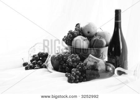 Black And White Fruit