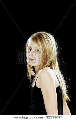 Tweenager Girl
