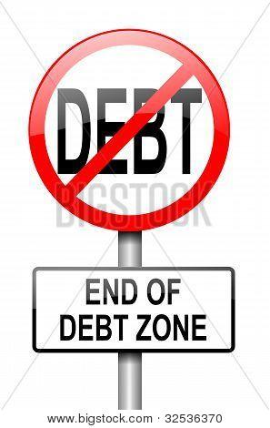 Zona livre de dívidas.