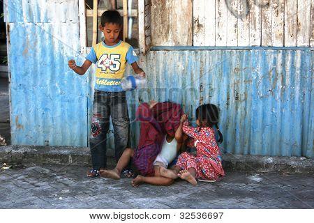 smiles of children suburb