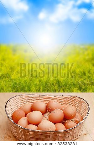 Eggs And Sunrise