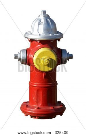 Isolated Fire Hydrant