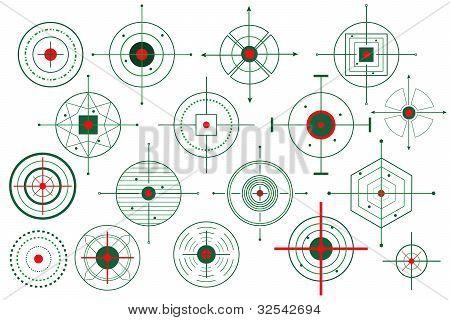 Vector Target Crosshair
