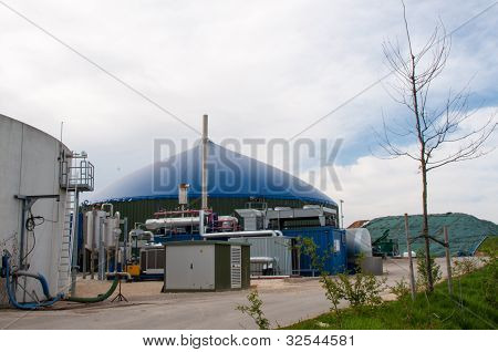 Fermenter Of A Biogas Plant