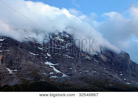 Eiger Peak (3970m),  Berner Oberland, Switzerland - UNESCO Heritage