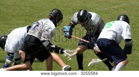 Lacrosse Scrum