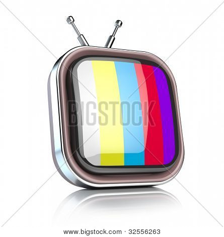 Icono de TV retro