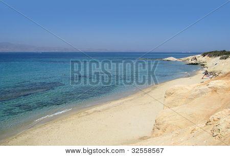 Coastal Scenery In Greece