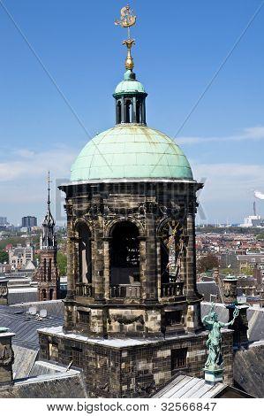 Amsterdam King's Palace Pinnacle