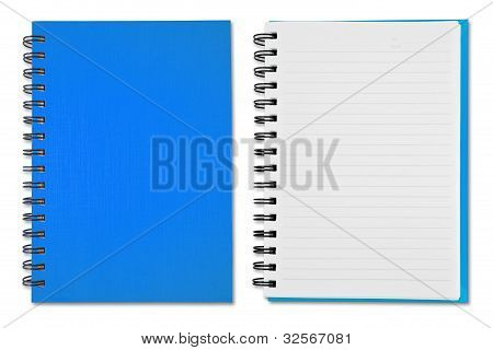 Sky Blue Note Book