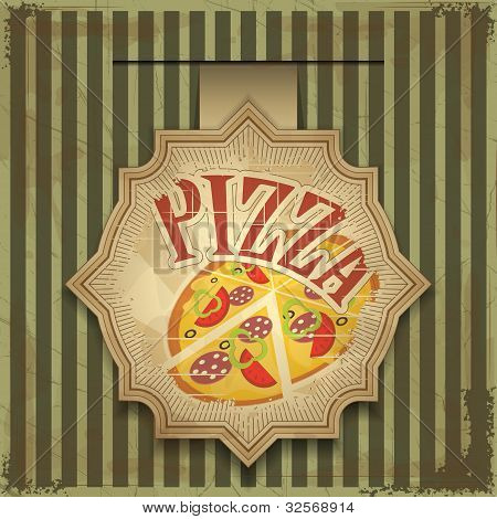 Pizza Label