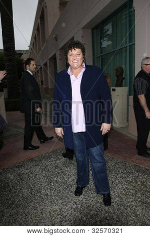 LOS ANGELES, CA - MAY 1: Dot Marie Jones at the Glee academy screening and Q&A at the Leonard H Goldenson Theater on May 1, 2012 in Los Angeles, California