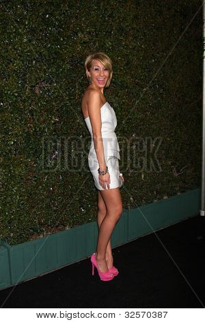 LOS ANGELES - MAY 1:  Chelsea Kane arrives at the ABC Family West Coast Upfronts at The Sayers Club on May 1, 2012 in Los Angeles, CA
