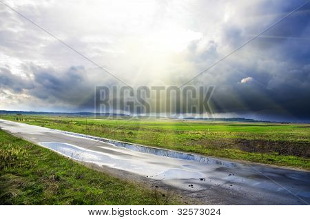 Wet Highway