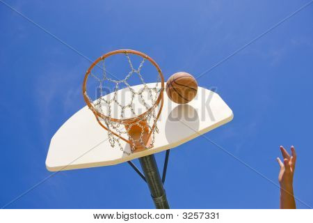Basketball Reaches Hoop