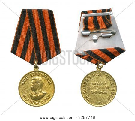 Soviet Medal For Victory Over Germany