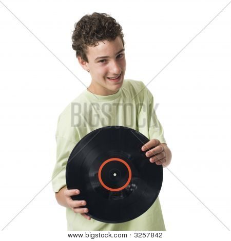 Boy With Record