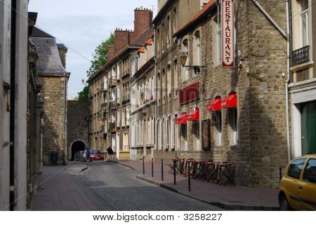 Boulogne Old Town. France