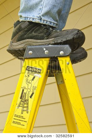 Ladder Safety Concept