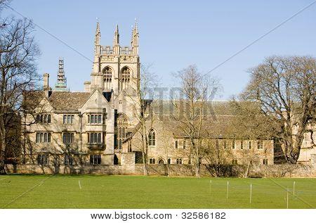 Merton College, Oxford University