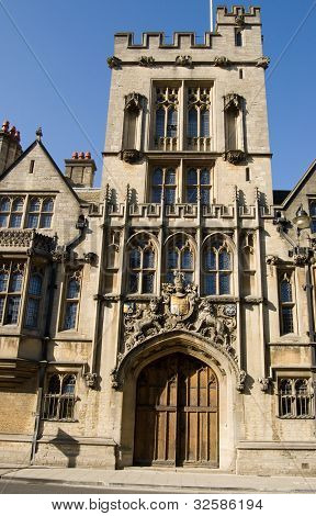 Medieval Gatehouse, Brasenose College, Oxford