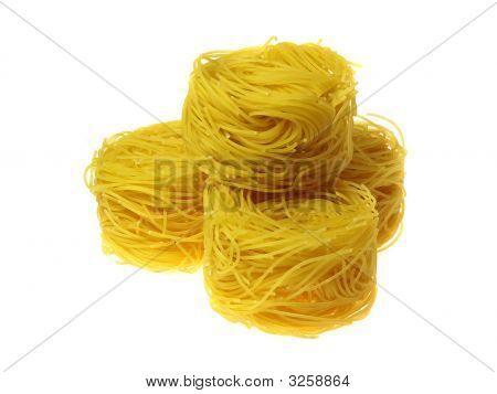 Three Vermicelli Nests